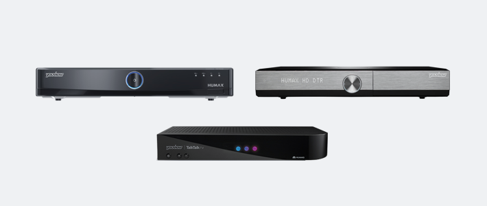 YouView boxes - models DTR-T1000, DTR-T1010 and DN370T