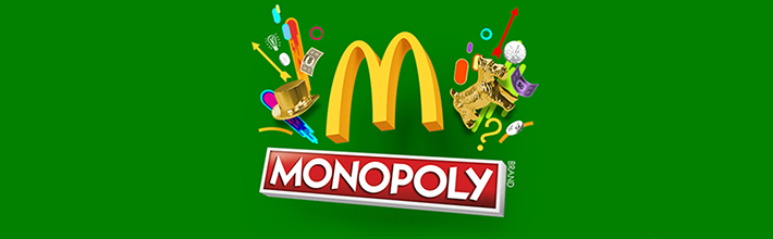 McDonald's Monopoly game 2019