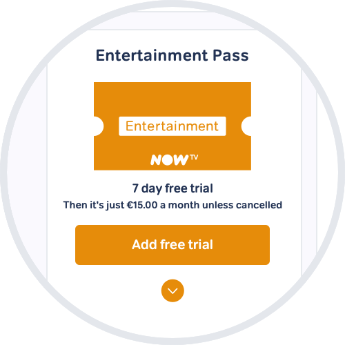 Start a free trial of the NOW TV Entertainment Pass