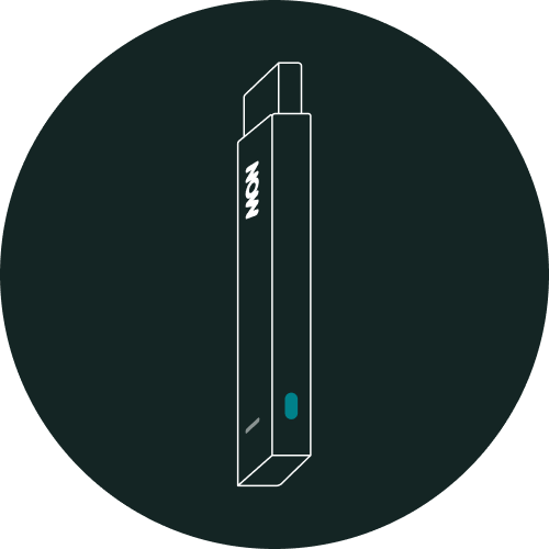 The reset button is on the side of your NOW Smart Stick