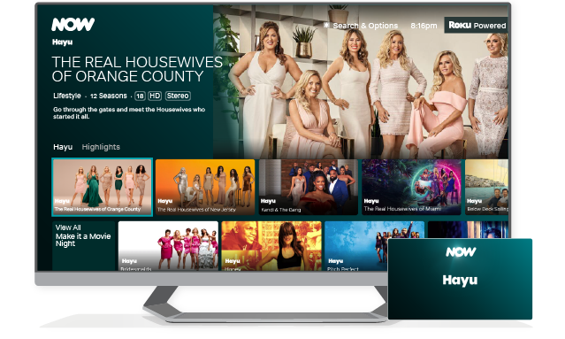 Get stuck into the most addictive reality TV with hayu Membership