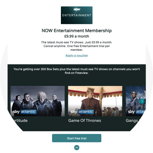 Start a free trial in NOW Membership