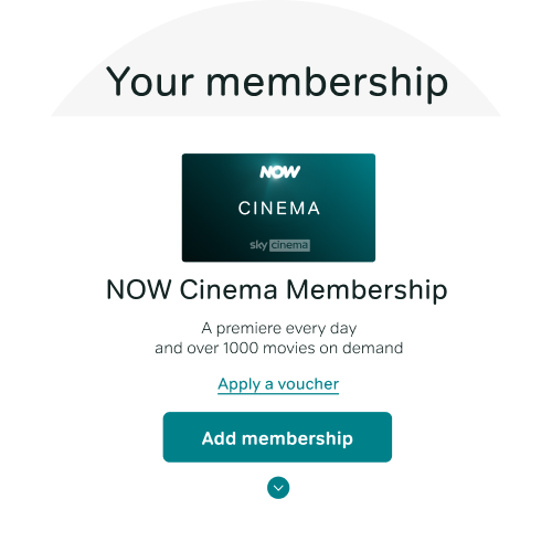 Select Add membership next to the cancelled membership you want to restart