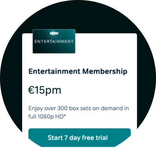 Start a free trial of Entertainment Membership