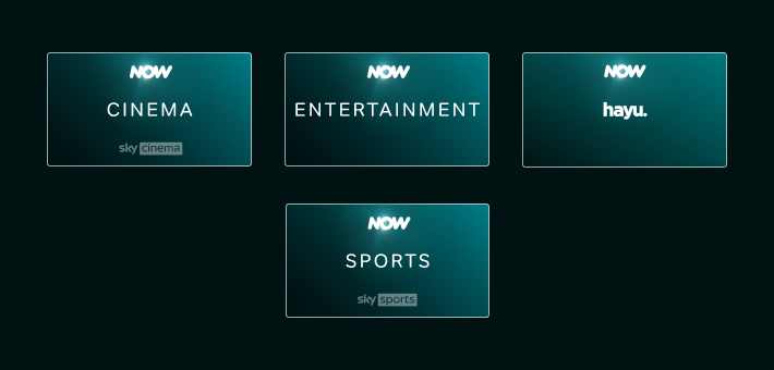 Download shows, movies and sports