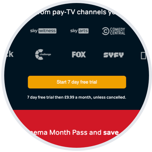 Start a free trial of the Entertainment Month Pass